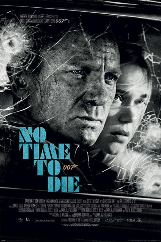 JAMES BOND Poster - No Time To Die - film 61 x 91.5 cm