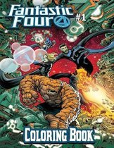 Fantastic Four Coloring Book