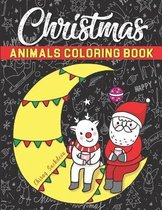 Christmas Animals Coloring Book
