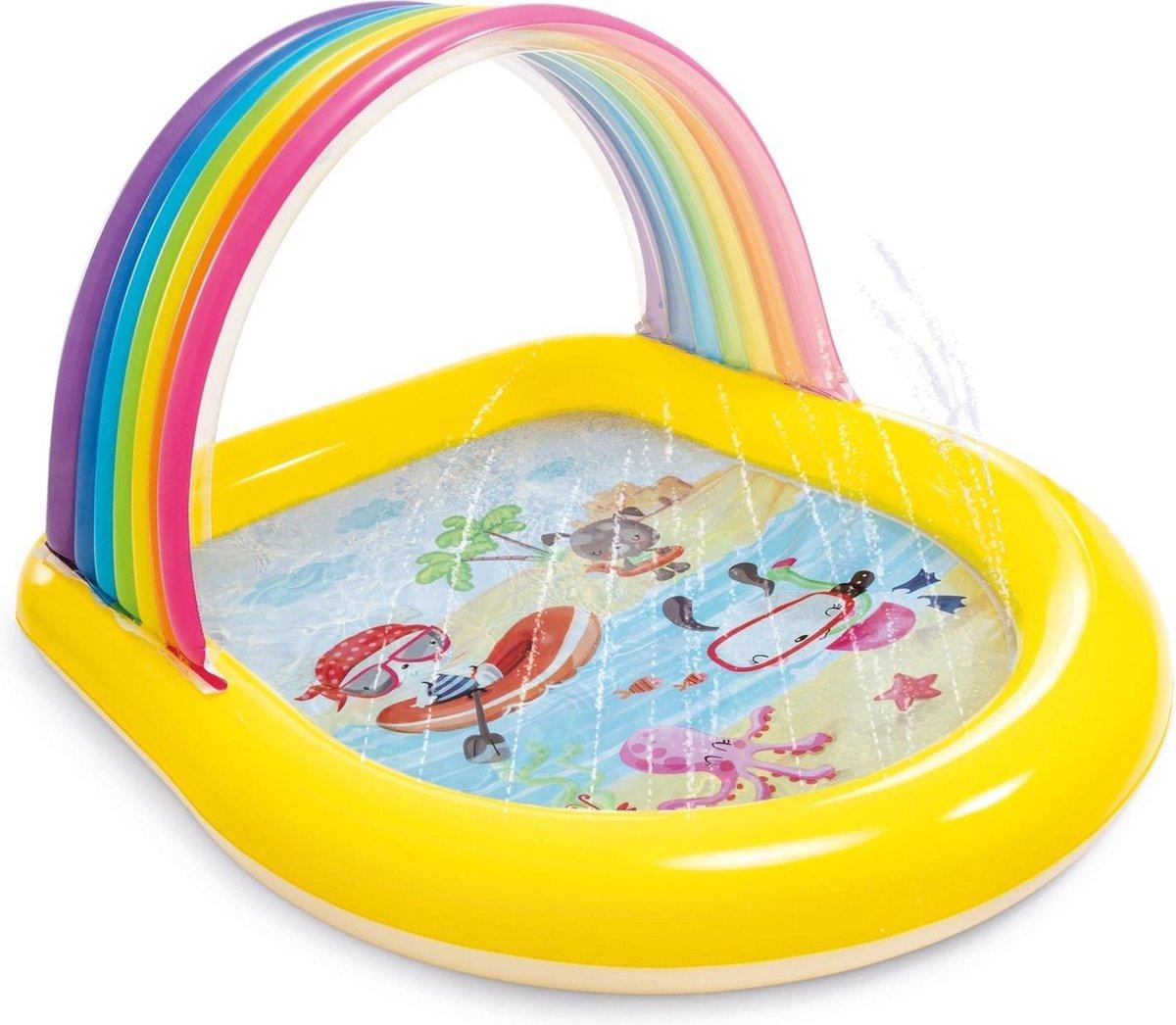 Intex Zwembad - geel/groen/paars/roze/blauw