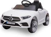 Mercedes CLS350 Elektrische Kinderauto - Accu Auto - Incl. Afstandsbediening - Wit