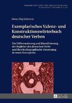 Exemplarisches Valenz- Und Konstruktionswoerterbuch Deutscher Verben
