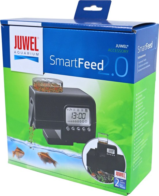 Juwel Smart Feed 2.0 voederautomaat.