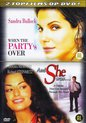 2 Topfilms op DVD 1-Disc Edition - When The Party's Over & And She Was