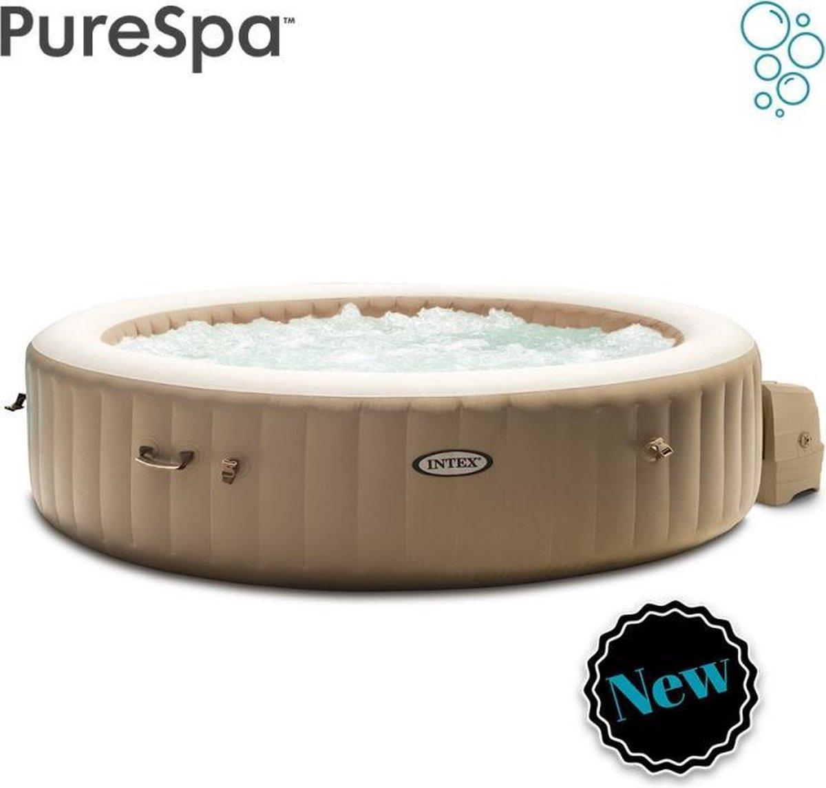 Intex Pure Spa Bubble - Sahara jacuzzi - 236x71 cm - 8 personen