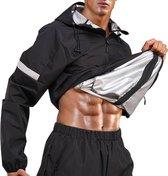 SHAKEX® - Zweetpak - Saunapak - Sweatsuit - Saunasuit - Gewichtsverlies - Afvallen - Cardio - Large