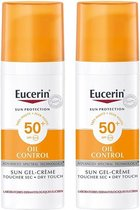 Eucerin Sun Oil Control Gel-Crème SPF50+ 2x50ml