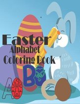 Easter Alphabet Coloring Book