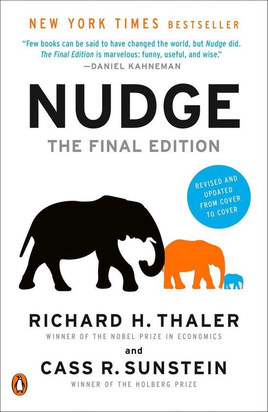 Boek cover Nudge van Richard H Thaler (Paperback)