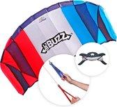 Flexifoil Powerkite 2.05m 'Big Buzz' Strand Sport Stunt Volwassen Kinder Vlieger