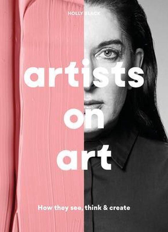 Boek cover Artists on Art van Holly Black (Paperback)