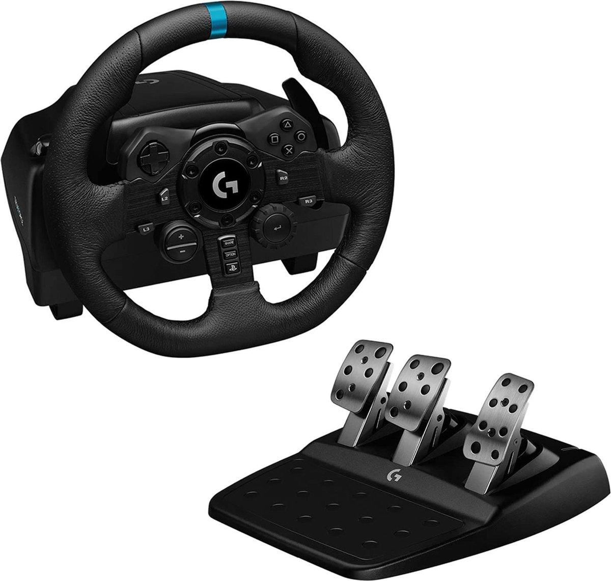 Race simulator - Forcefeedback tot 1000 Hz - Race stuur - Professionele race simulator - Race pedale