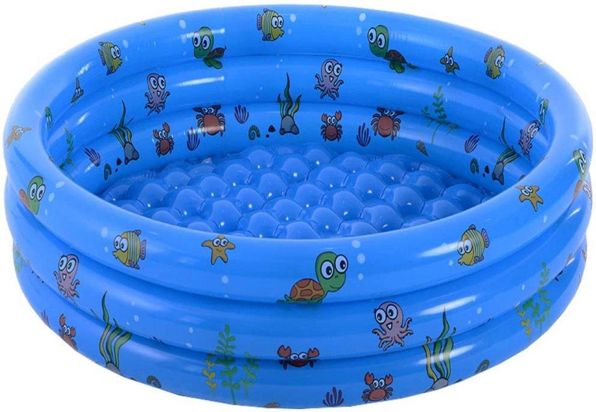 Kinderzwembad Opblaasbaar - Zwembadje - Zwembad Kinderen - Speelzwembad - Baby Peuter Kinder Badje