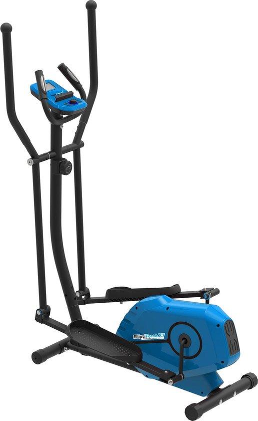 SportTronic ST-X7 Crosstrainer – Fitness Hometrainer – Zwart/Blauw