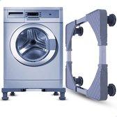 Wasmachine Verhoger - Geschikt voor Vaatwasser, Koelkast, Wasmachine, Vriezer en Droger - Verstelbaar - Antislip - ABS - Tot 300kg