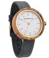 WoodWatch Copenhagen Grey Houten Dames Horloge - 36 mm