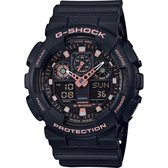 Casio G-Shock Heren Horloge GA-100GBX-1A4ER - 50 mm