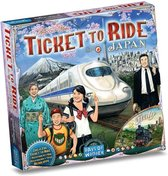 Ticket to Ride Japan & Italy - Uitbreiding - Bordspel