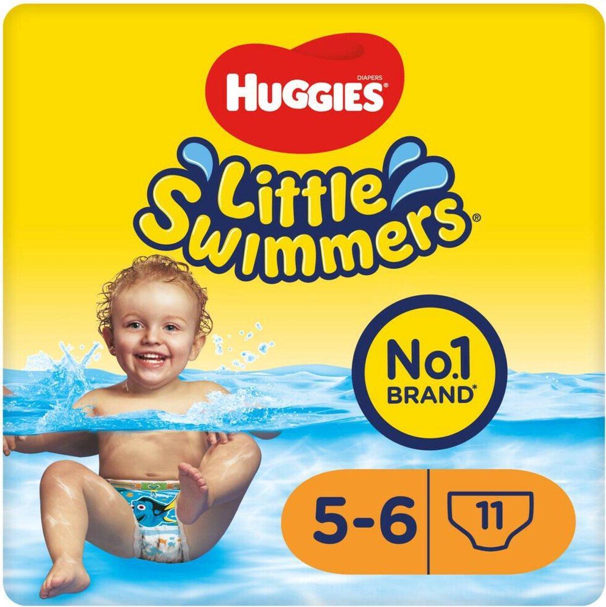 Huggies Little Swimmers - zwemluiers - maat 5/6 - (12 tot 18 kg) - voordeelbox