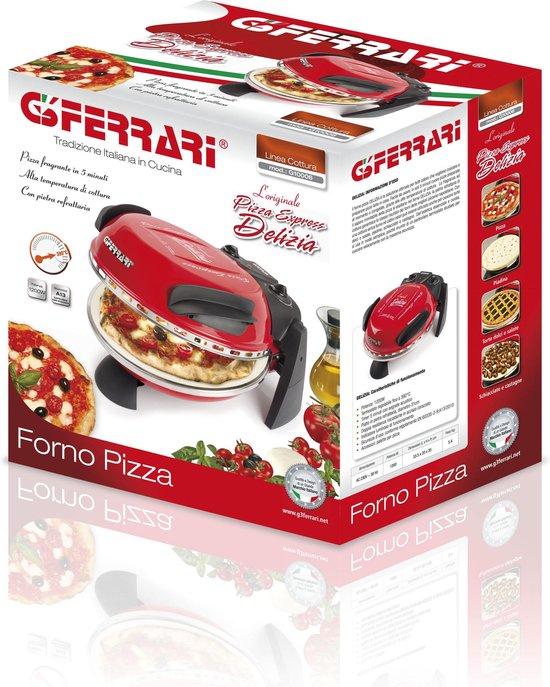G3 Ferrari Delizia Rosso  - Pizzaoven