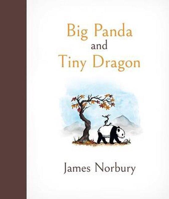 Boek cover Big Panda and Tiny Dragon van James Norbury (Hardcover)