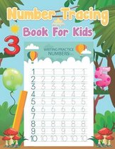 Number tracing book For Kids
