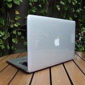 Macbook Air 13 inch (modellen t/m 2017) Laptop Cover - Clear Hard Case - Transparant