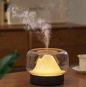 Desse® Aroma Cool Mist Diffuser 400 ml - Aroma Diffuser - Aromadiffuser -Ultrasone Vernevelaar - Luchtbevochtiger- Verdamper -Essentiële Olie - Mist Diffuser Etherische Olie - Geschikt Voor Woonkamer - Slaapkamer