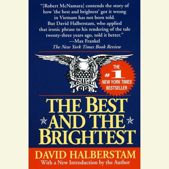 Boek cover The Best and the Brightest van David Halberstam (Onbekend)