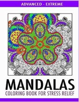 Advanced Mandalas Coloring Book for Stress Relief