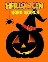 Halloween Word Seach: Easy Word Search For Adults