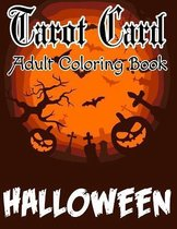 Tarot Card Adult Coloring Book Halloween