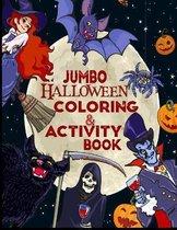 JUMBO Halloween coloring & Activity Book