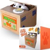 MikaMax Kitty Spaarpot - Stelende Kittenbank - Stimulans om te sparen - Elektrische spaarpot voor dierenvrienden