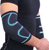 Armbrace - Elleboog Brace - Tennis Elleboog - Golf Arm - Tennisarm Brace - Elleboog Ondersteuning - Artrose - Reuma - Blauw