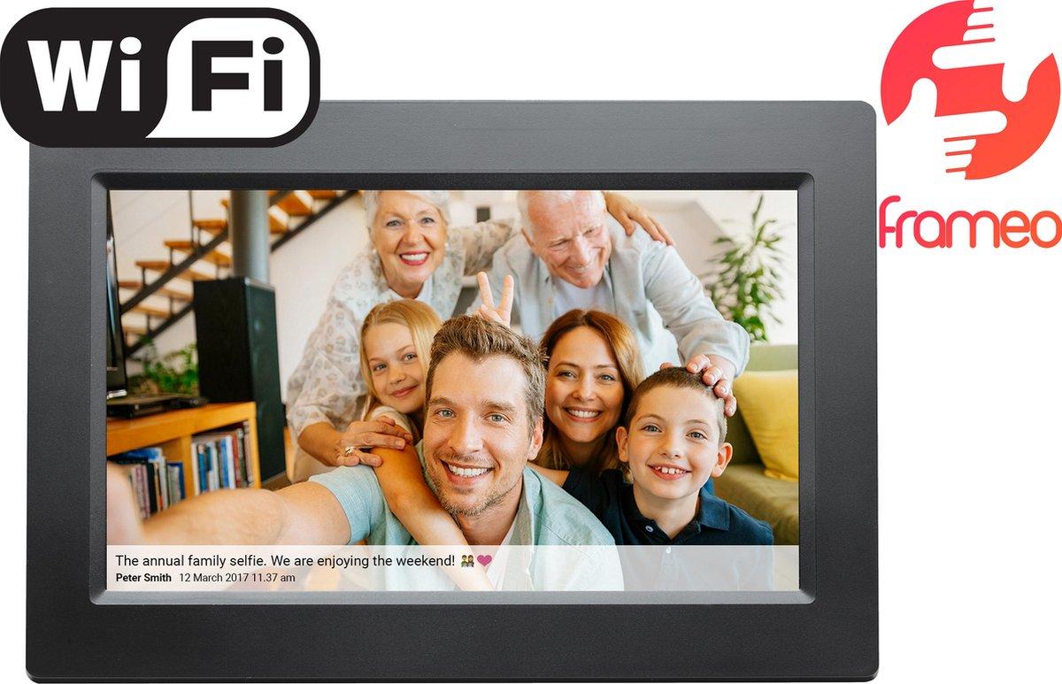 Denver PFF-1010 Black - Digitale Fotolijst - Fotokader - 10.1 inch - IPS touchscreen - met Frameo so