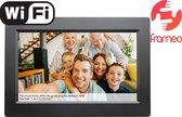 Denver PFF-1010 Black - Digitale Fotolijst - Fotokader - 10.1 inch - IPS touchscreen - met Frameo software - Zwart
