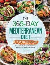 Omslag The 365-Day Mediterranean Diet Cookbook