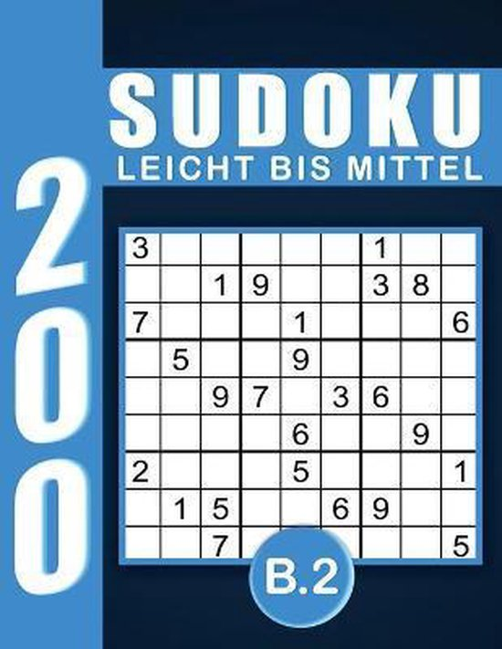 Sudoku Erwachsene Leicht Bis Mittel Band 2