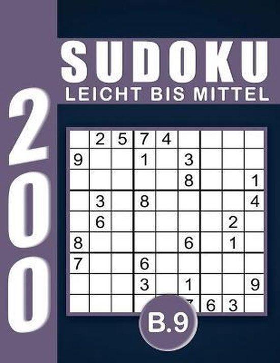 Sudoku Erwachsene Leicht Bis Mittel Band 9