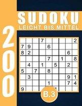 Sudoku Erwachsene Leicht Bis Mittel Band 3
