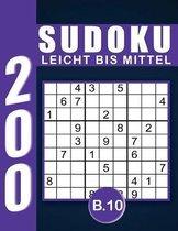 Sudoku Erwachsene Leicht Bis Mittel Band 10