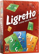 Ligretto rood Kaartspel