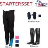 Startersset / starterspakket voor paardrijden