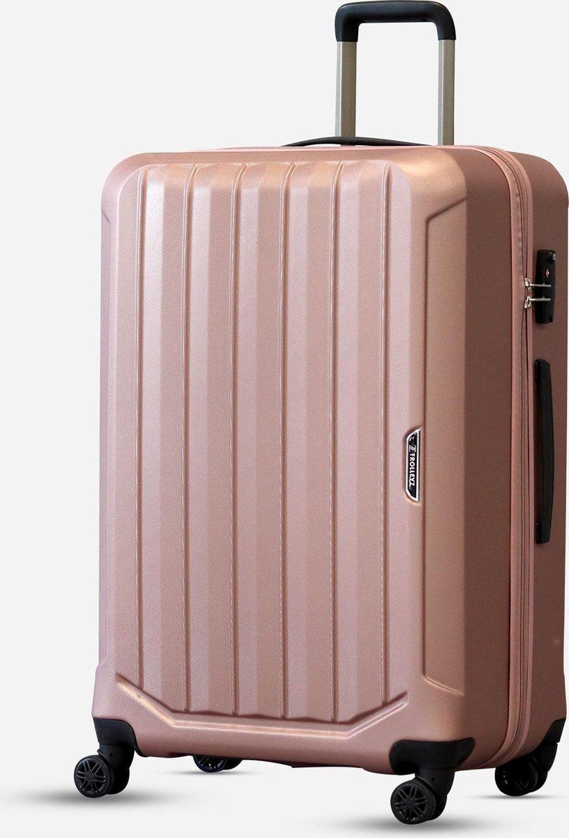©TROLLEYZ - Bali No.22 - Reiskoffer 78cm met TSA slot - Dubbele wielen - 360° spinners - 100% ABS -