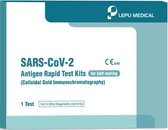 Afbeelding van Lepu Medical Corona Zelftest (Antigeen Sneltest) - 5 stuks