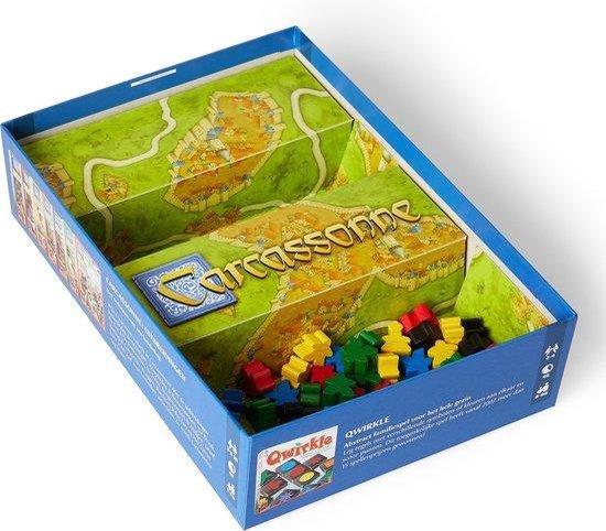 Afbeelding van het spel Carcassonne - Basisspel - Nieuwe Editie