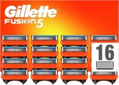 Gillette Fusion5 - 16 stuks - Scheermesjes - Bulkverpakking scheermesjes