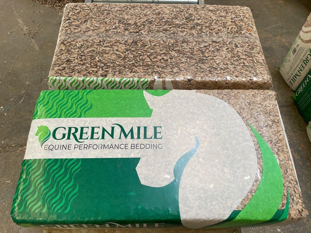 Green mile bodembedekking - Karton - Stofvrij - 17.5 kg