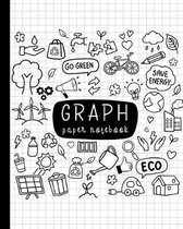 Graph Paper Notebook: Quad Ruled 4x4 Composition Notebook, Math and Science Composition Notebook for Students(Graphing Paper),8x10